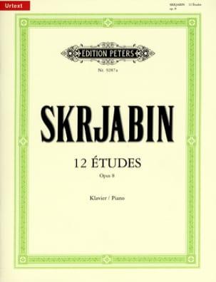 12 Etudes Opus 8 SCRIABINE Partition Piano - laflutedepan