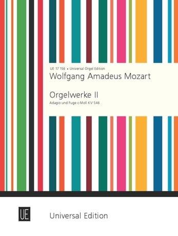 Adagio and Fugue - MOZART - Partition - Orgue - laflutedepan.com
