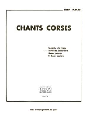 Sérénade Complainte TOMASI Partition Mélodies - laflutedepan
