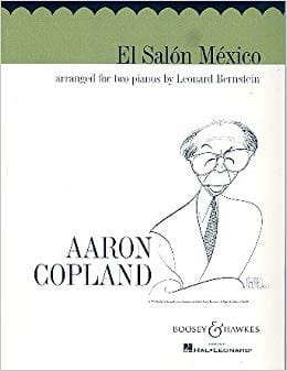 El Salon Mexico. 2 Pianos COPLAND Partition Piano - laflutedepan