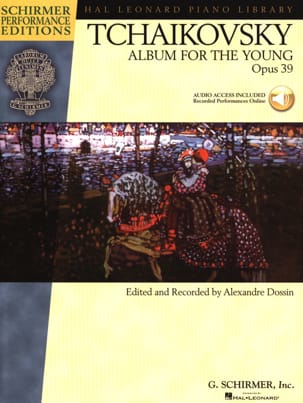 Album For The Young Opus 39 TCHAIKOVSKY Partition Piano - laflutedepan