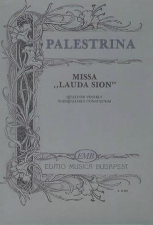 Missa Lauda Sion PALESTRINA Partition Chœur - laflutedepan