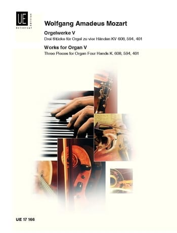 Oeuvre d'Orgue Volume 5. 4 Mains. - MOZART - laflutedepan.com
