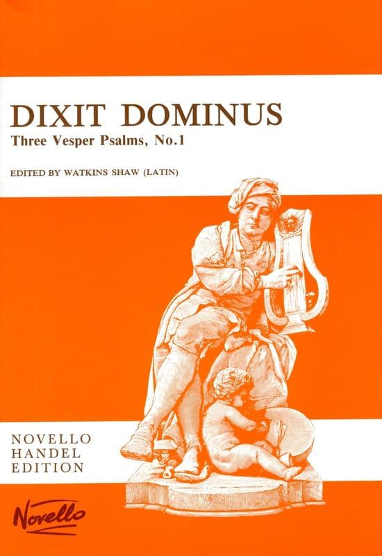 Dixit Dominus - HAENDEL - Partition - Chœur - laflutedepan.be