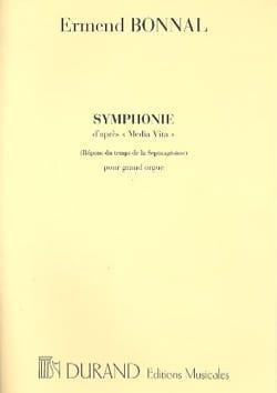 Symphonie Ermend Bonnal Partition Orgue - laflutedepan