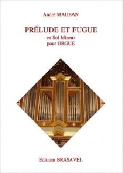 Prélude et fugue en sol mineur - André Mauban - laflutedepan.com