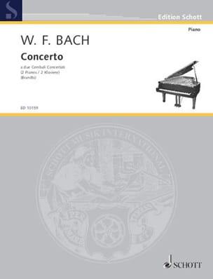 Concerto En Fa Majeur pour 2 clavecins laflutedepan