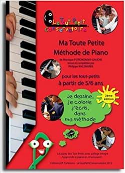 Ma Toute Petite Méthode de Piano Volume 1 Partition laflutedepan