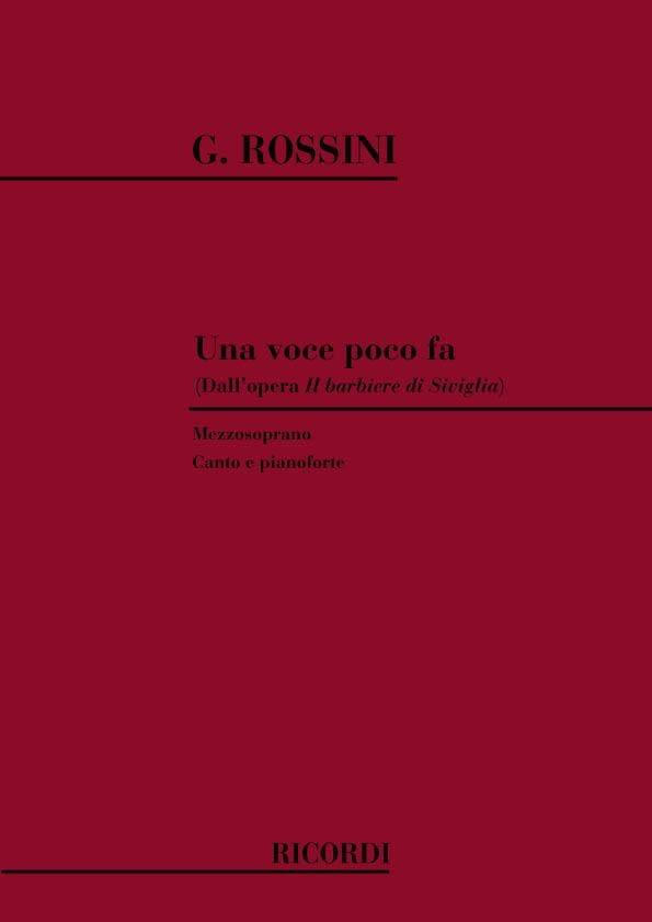 Una Voce Poco Fa. Il Barbiere Di Siviglia - ROSSINI - laflutedepan.com
