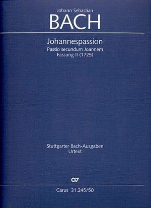 Passion selon Saint-Jean. Version 2 - laflutedepan.com