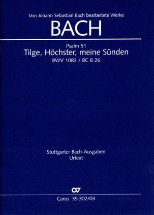 Tilge, Höchster, Meine Sünden BWV 1083 laflutedepan