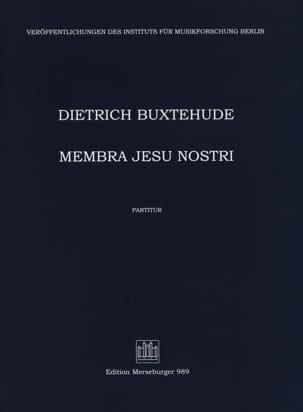 Membra Jesu Nostri. Conducteur BUXTEHUDE Partition laflutedepan