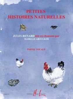 Petites Histoires Naturelles. Chant seul laflutedepan