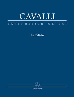La Calisto Francesco Cavalli Partition Opéras - laflutedepan