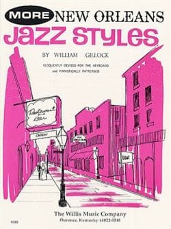 More New Orleans Jazz Styles William Gillock Partition laflutedepan