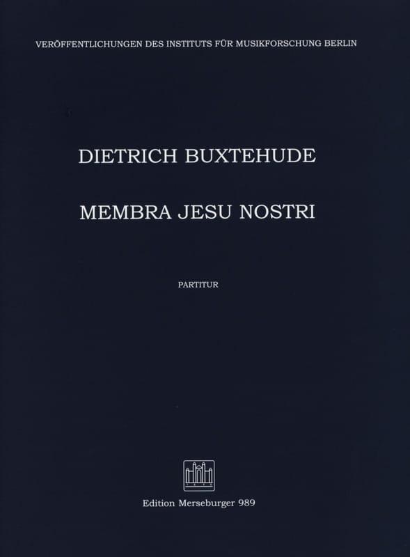 Membra Jesu Nostri. Conducteur - BUXTEHUDE - laflutedepan.com