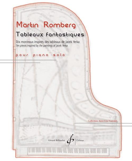 Tableaux fantastiques - Martin Romberg - Partition - laflutedepan.com