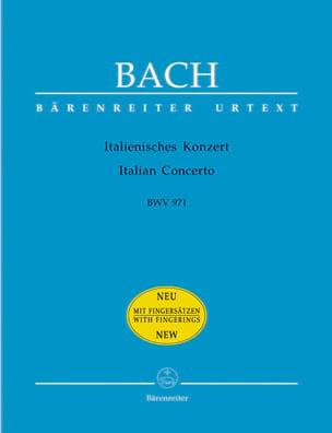 Italienisches Konzert BWV 971 BACH Partition Piano - laflutedepan