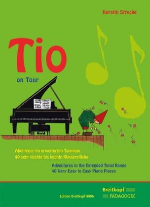 Tio on Tour Kerstin Strecke Partition Piano - laflutedepan