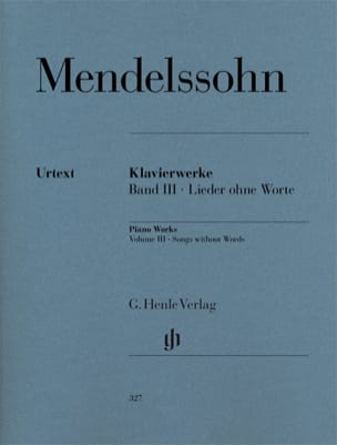 MENDELSSOHN - Romances without words - Partition - di-arezzo.co.uk