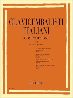 Clavecinistes Italiens Volume 1 Partition Clavecin - laflutedepan