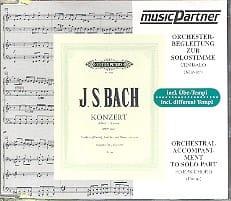 Concerto Pour Clavier En Ré Mineur. BWV 1052. CD BACH laflutedepan