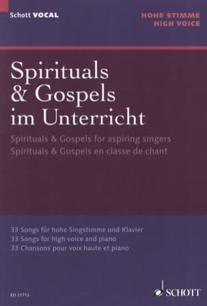 Spirituals et gospels pour la classe de chant Voix haute laflutedepan