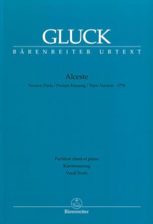 Alceste - Version Paris GLUCK Partition Opéras - laflutedepan
