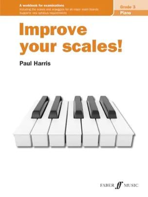 Improve your scales. Grade 3 Paul Harris Partition laflutedepan