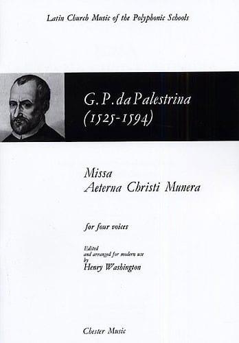 Missa Aeterna Christi Munera - laflutedepan.com