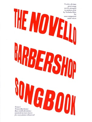 The Novello Barbershop Songbook Partition Chœur - laflutedepan