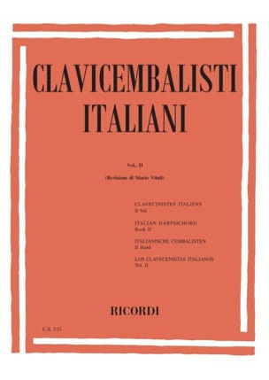 Clavecinistes Italiens Vol 2 Partition Clavecin - laflutedepan