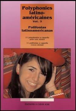 Polyphonies Latino Américaines Volume 3 Partition laflutedepan