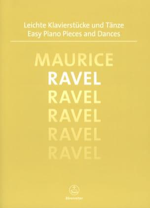 Easy Piano Pieces and Dances RAVEL Partition Piano - laflutedepan