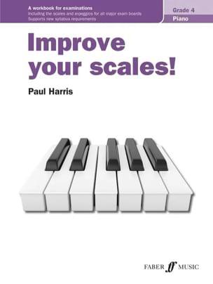 Improve your scales. Grade 4 Paul Harris Partition laflutedepan