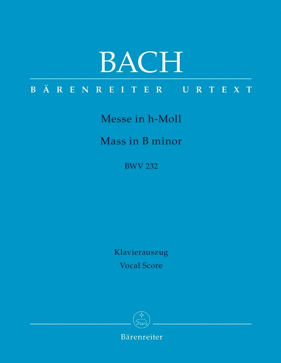 Messe en Si Mineur - BACH - Partition - Chœur - laflutedepan.com