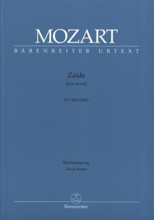 Zaïde K 344 - MOZART - Partition - Opéras - laflutedepan.com
