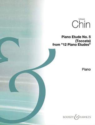 Etude 5 : Toccata Unsuk Chin Partition Piano - laflutedepan