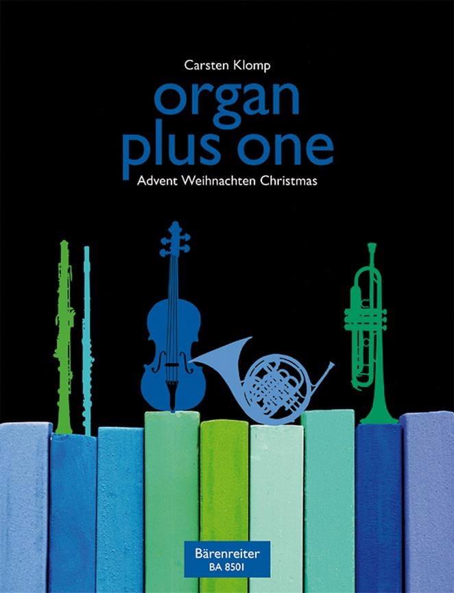 Organ Plus One. Noël - Carsten Klomp - Partition - laflutedepan.com