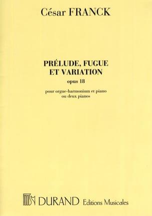 Prélude, Fugue et Variations Opus 18. FRANCK Partition laflutedepan