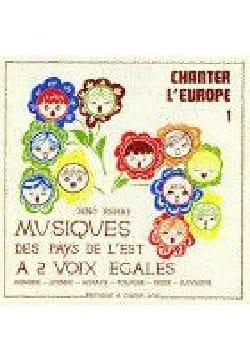 Chanter L'Europe 1 Partition Chœur - laflutedepan