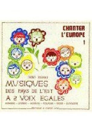 Chanter L'Europe 1 - Partition - Chœur - laflutedepan.com