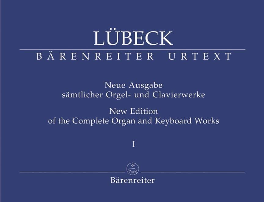 Oeuvre d'Orgue Volume 1 - Vincent Lübeck - laflutedepan.com