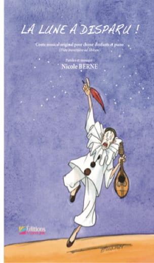 La Lune a disparu - Nicole Berne - Partition - laflutedepan.com