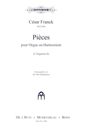 L'Organiste Volume 2 FRANCK Partition Orgue - laflutedepan