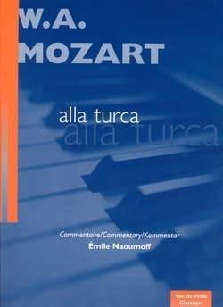 Marche Turque de la Sonate K 331 MOZART Partition Piano - laflutedepan