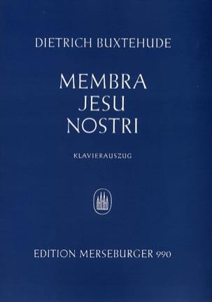 Membra Jesu Nostri BUXTEHUDE Partition Chœur - laflutedepan