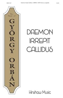 Daemon irrepit Callidus György Orban Partition Chœur - laflutedepan