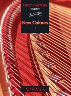New Colours Volume 1 Annick Chartreux Partition Piano - laflutedepan