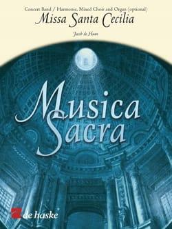 Missa Sancta Cecilia Jacob De Haan Partition Chœur - laflutedepan